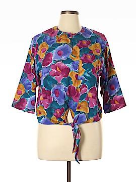 Koret 3/4 Sleeve Blouse Size L
