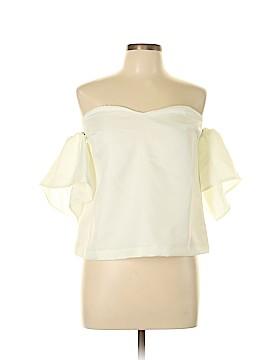 Renamed Short Sleeve Blouse Size L