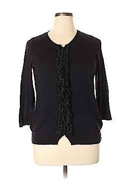 Talbots Silk Cardigan Size 1X (Plus)