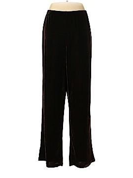 Quacker Factory Velour Pants Size L
