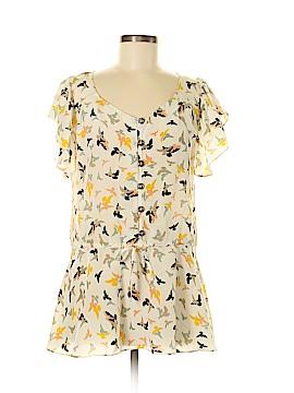 Jenny Han Short Sleeve Blouse Size M