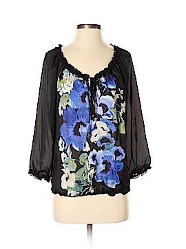 White House Black Market 3/4 Sleeve Blouse Size S