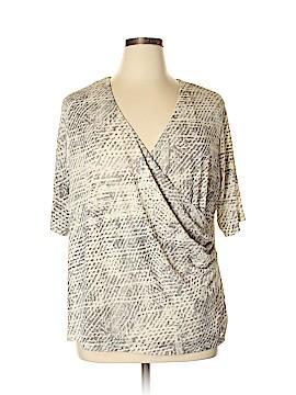 Jones New York Collection Short Sleeve Blouse Size 3X (Plus)