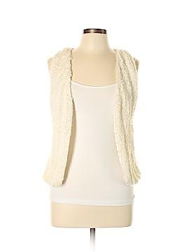 Knitworks Faux Fur Vest Size L