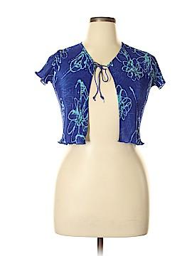 Amy Byer Short Sleeve Blouse Size 16
