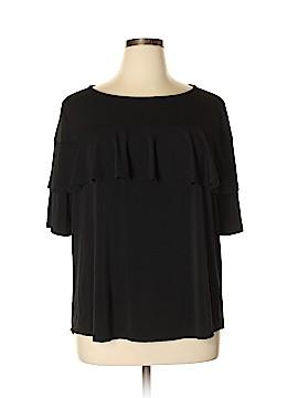 J.t.b. Short Sleeve Blouse Size 1X (Plus)