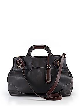 Salvatore Ferragamo Leather Satchel One Size