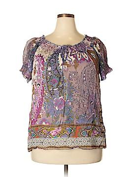BILA Short Sleeve Blouse Size XXL