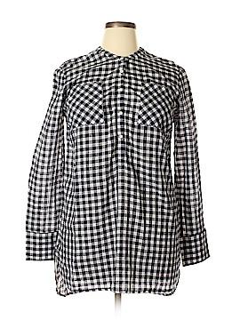 Merona Long Sleeve Button-Down Shirt Size XL