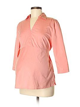 Duo Maternity 3/4 Sleeve Blouse Size M (Maternity)
