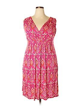 St. John's Bay Casual Dress Size 2X (Plus)