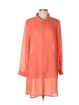 VERTIGO Long Sleeve Blouse Size XL