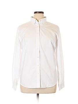 Lands' End Long Sleeve Button-Down Shirt Size XL