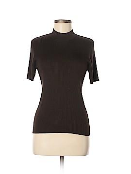 Chaus Short Sleeve Silk Top Size M