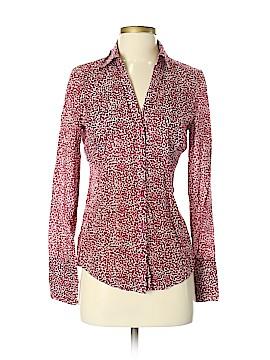 Ann Taylor Factory Long Sleeve Button-Down Shirt Size 4