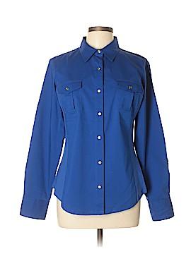 Zac & Rachel Long Sleeve Button-Down Shirt Size L