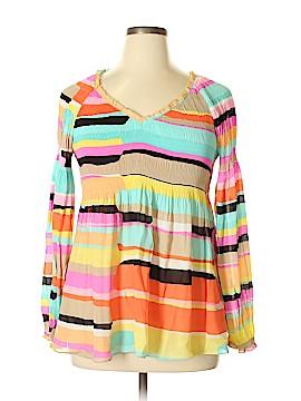 Melissa Paige Long Sleeve Blouse Size XL