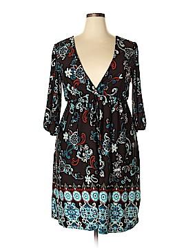 Hypnotized Casual Dress Size 2X (Plus)