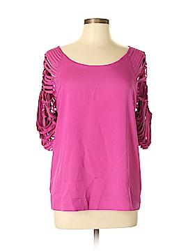 Lost April 3/4 Sleeve Blouse Size L