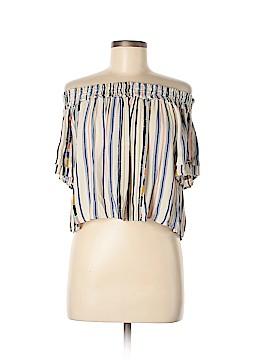 Astr Short Sleeve Blouse Size M