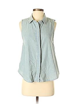 Rag & Bone Sleeveless Button-Down Shirt Size S