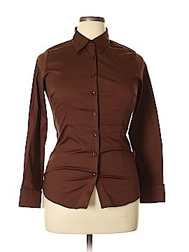Doublju Long Sleeve Button-Down Shirt Size XL