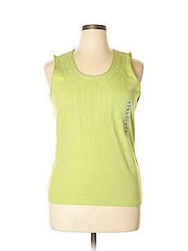 Lizwear by Liz Claiborne Sleeveless Blouse Size XL