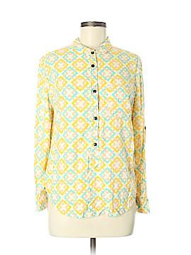 Jach's Girlfriend Long Sleeve Button-Down Shirt Size M