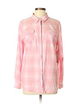 Relativity Long Sleeve Button-Down Shirt Size L