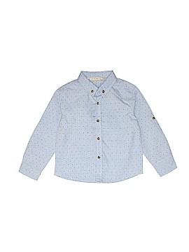 MISH Boys Long Sleeve Button-Down Shirt Size 18-24 mo