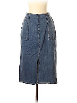 Who What Wear Denim Skirt Size 4