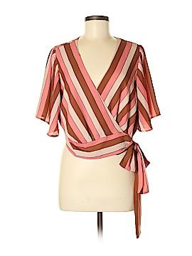 Leith Short Sleeve Blouse Size M