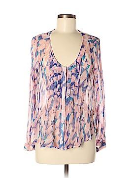 Maeve Long Sleeve Silk Top Size 8