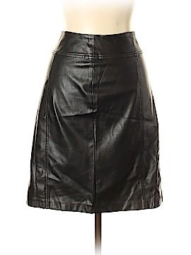 Dana Buchman Faux Leather Skirt Size 8