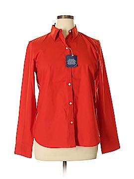 Chaps Long Sleeve Button-Down Shirt Size XL