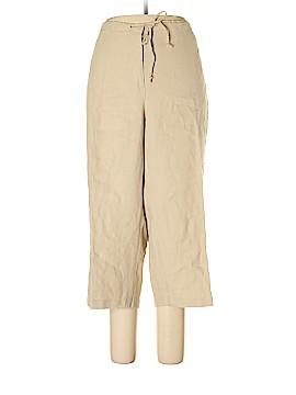 Choices Linen Pants Size 2X (Plus)