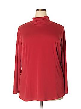 Simonton Says Long Sleeve Top Size 2X (Plus)