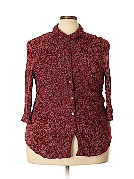 Elisabeth by Liz Claiborne 3/4 Sleeve Blouse Size 20 (Plus)