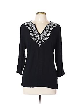 Cathy Daniels 3/4 Sleeve Top Size L