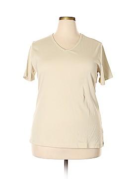 SONOMA life + style Short Sleeve T-Shirt Size 1X (Plus)
