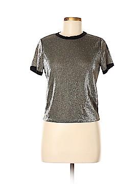 Sage Short Sleeve Blouse Size M