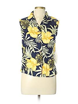 Jamaica Bay Short Sleeve Button-Down Shirt Size XL