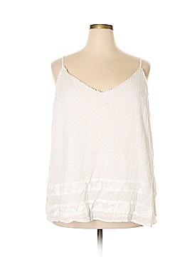 Ann Taylor LOFT Sleeveless Blouse Size 24 (Plus)