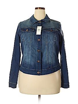 Jessica Simpson Denim Jacket Size 1X (Plus)