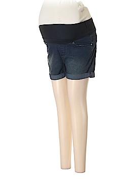 Times Two Maternity Denim Shorts Size M (Maternity)