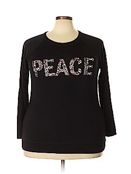 Style&Co Sweatshirt Size 1X (Plus)