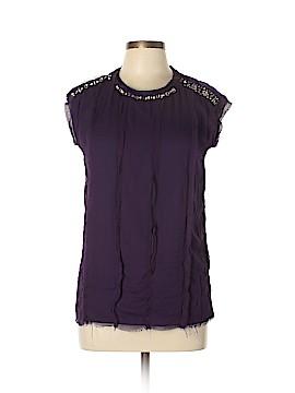 Lanvin Short Sleeve Blouse Size 36 (FR)