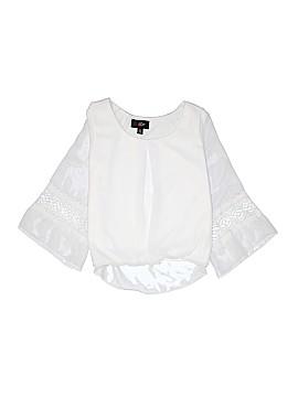 Iz Byer 3/4 Sleeve Blouse Size L (Youth)