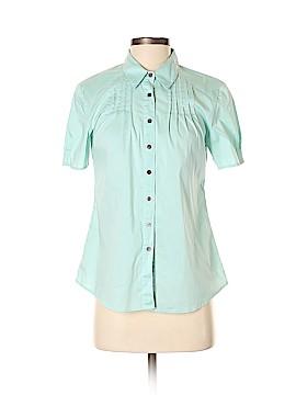 J.jill Short Sleeve Button-Down Shirt Size S