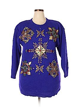 Marisa Christina Wool Pullover Sweater Size 1X (Plus)